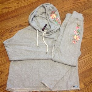 NWOT Betsey Johnson Performance Sweat Suit for sale